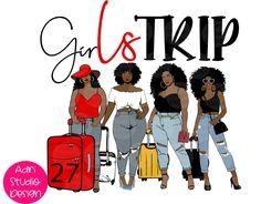 Black Girl Cartoon, Black Girl Art, Black Girl Magic, Black Artwork, African American Women, Amazing Adventures, Photoshoot Inspiration, Black Women, Clip Art
