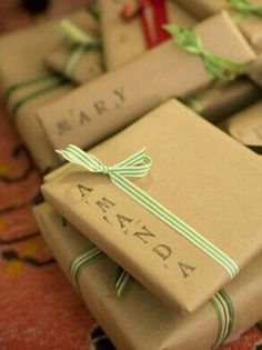 personal wrapping paper