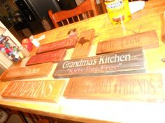 Booth #555: DIY STENCILED WALL SIGNS
