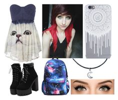 """""""Kitty! """" by tvdfangirl7 ❤ liked on Polyvore featuring moda"""