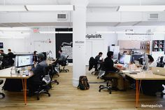 TripleLift - This native ad company's office gets a facelift @Homepolish NYC