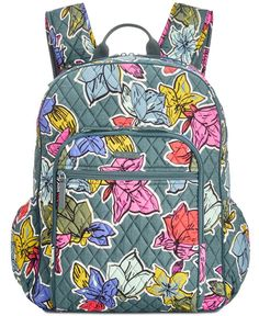 Designer Clothes, Shoes & Bags for Women Cute Backpacks For Traveling, Pretty Backpacks, Blue Backpacks, College Backpacks, Lightweight Backpack, Backpack Reviews, Designer Shoulder Bags, Blue Bags, Vera Bradley Backpack