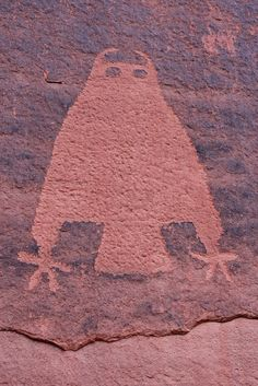 prehistoric petroglyphs, Moab area, Grand County, Utah 24, via Flickr.