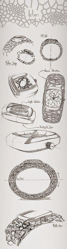 World of Design: LICHEN - exosqueleton watch