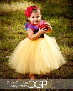 Snow White. I'm thinking this is going to be Liv's Halloween costume this year!