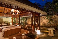 Millesime Collection Exterior Spa Suite at Heritage Awali Golf & Spa Resort, Mauritius