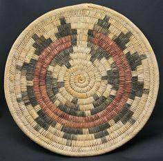 Navajo Native American Indian Baskets, - Navajo Wedding Basket
