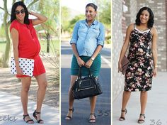 Fabulously Average, My Maternity Style, bump style, 21 outfit ideas for expecting mothers