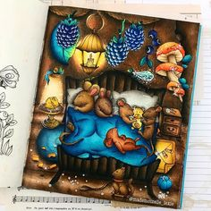 Adult Coloring, Coloring Books, Coloring Pages, Colouring, Forest Drawing, Markova, Bunt, Enchanted, Fairy
