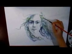 Watercolor Speed Painting - Mer Silencieux