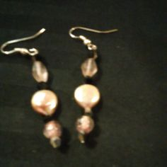 Check out this item in my Etsy shop https://www.etsy.com/listing/468191423/baby-pink-drop-earrings