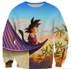 Dragon Ball Sweatshirt - Kid Goku