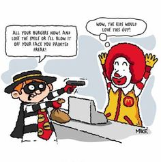 That's how we got burgler(at least that's what I think is the robber's name??...)
