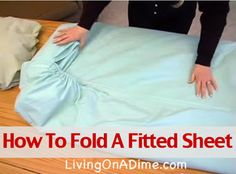 Minute Crafts Folding Fitted Sheet
