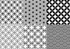 Naadloze Japanse patroon, vector