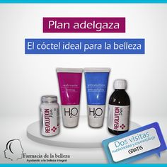 El nuevo plan para el #controldepeso de Farmacia de la belleza. Dos visitas Gratis #bajardepeso