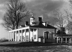 Mount Vernon, George Washington's estate, was preserved thanks in part to conservation easements