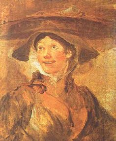 British Old Masters Paintings | ... Girl William Hogarth Wholesale Oil Painting China Picture Frame 02347