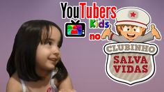 Youtubers Kids no Clubinho Salva Vidas - Julia Rutter