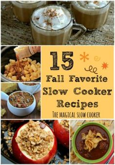 15 Fall Favorite Slow Cooker Recipes