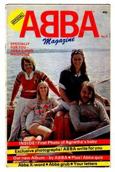 ABBA - OFFICIAL MAGAZINE  1978