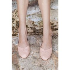 Sumbawa Nude Leather Flats Leather Ballet Flats Wedding Ballet Flats... (€100) ❤ liked on Polyvore featuring shoes, flats, ballet shoes, grey, slip ons, women's shoes, gray ballet flats, leather flats, leather slip on shoes and embellished ballet flats