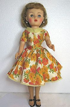 Vintage Miss Revlon by Ideal.   classic 1950's dress spent hours playing with her.