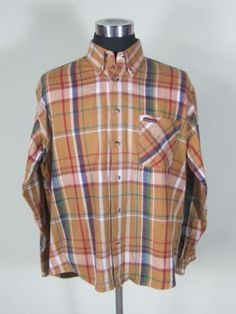 Men's Clothing United Marlboro Classics Mens Casual Button-down Shirts Size X Large