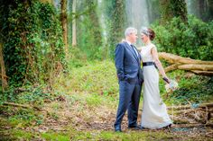 bride & groom in the woods | presidio golf club | san francisco wedding photography