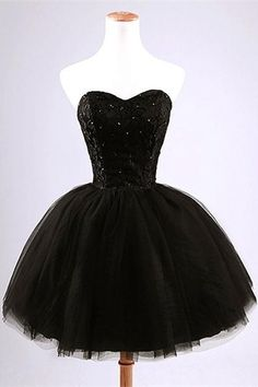 Simple Black Short Homecoming Dresses,Gorgeous Homecoming Dresses,Pretty Cocktail