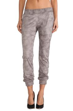 determined to find a pair of leather sweatpants this season