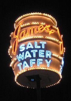 James Salt Water Taffy - Atlantic City, N J
