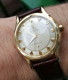 Vintage OMEGA Constellation Chronometer In Gold Circa 1950s - https://omegaforums.net