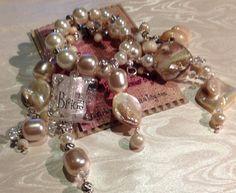 Bridal Wine glass charm  purse charm Free by SugarLumpCreations, $20.00