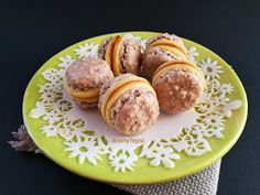 AranyTepsi: Dióhabos tallérok Pretzel Bites, Biscotti, Sausage, Muffin, Bread, Breakfast, Cake, Food, Hungarian Recipes