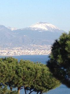 Vesuvio Naples                 Winter in Naples
