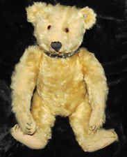 ANTIQUE STEIFF EARLY 1920'S MOHAIR TEDDY BEAR FF BUTTON IN EAR VINTAGE TREASURE