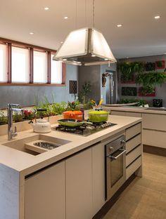 Casa Cor Campinas Kitchen Island, Kitchens, Home Decor, Houses, Island Kitchen, Decoration Home, Room Decor, Kitchen, Interior Design