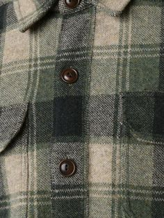 Shop Rrl 'Birdseye' jacquard workshirt in Mario's from the world's best…