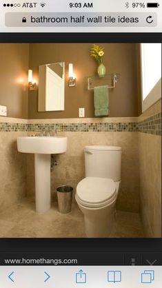 Die Hälfte Badezimmer Fliesen Ideen   Badezimmer
