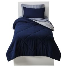 Room Essentials® Solid Bed in a Bag - Admiral Blue (Twin/XL)