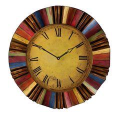 Multicolor Wall Clock Wall Mounted Clock Clocks Home Decor