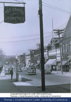 Center Street, 1948:: Connecticut History Online