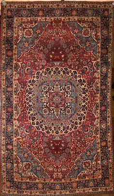 Iranian carpet , Mashad Rug