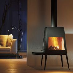 Wittus Shaker Stove, probably not very efficient but it sure is nice to look at.