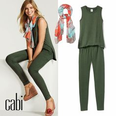 91539b39c3a NEW Spring cabi collection! Shop my online boutique   Kimberlyhoffman.cabionline.com Green