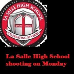 A La Salle High School male student attempted to take his own life in a classroom full of peers on Monday, but he has, thankfully, survived.