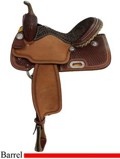 """14"""" to 16"""" Billy Cook Barrel Racing Saddle 1530. This is the exact saddle I have, absolutely love it!!"""