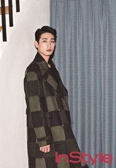 Yoon Park flourishes his sharply handsome features for 'InStyle' | allkpop.com