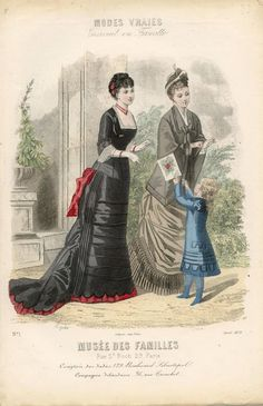 Modes Vraies Musée des Familles 1878